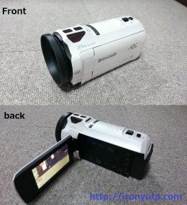 おすすめの4kビデオカメラPanasonicHC-VX980M